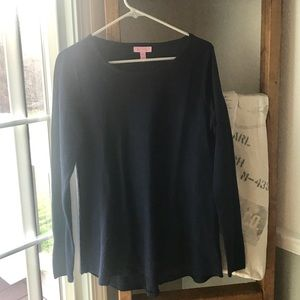 NWOT Lilly Pulitzer Navy Ingle Sweater